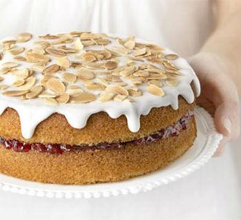 Розовый торт в мультиварке торт в