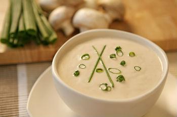 Рецепт картофельного супа-пюре с шампиньонами