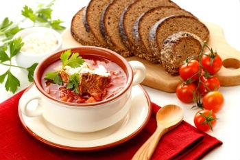 Борщ - украинский кулинарный шедевр