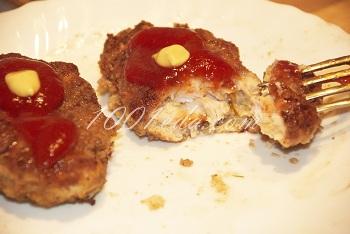 Рецепт котлет из куриного филе с сыром
