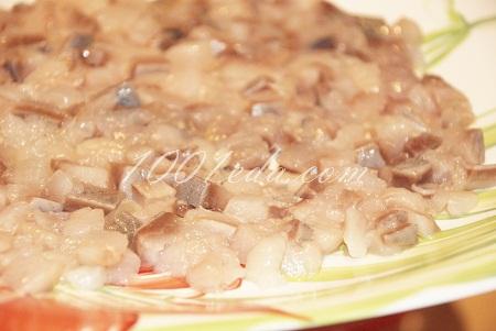 Селедка под шубой в стаканчиках, пошаговый рецепт с фото