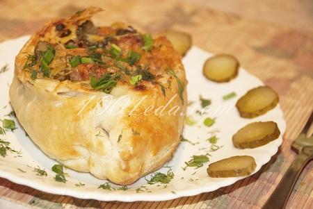 пирожки с мясом с дрожжевого теста в духовке рецепт с фото пошагово
