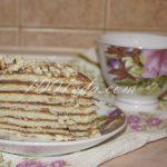 """Торт из сгущенки """"Nesquik"""" без выпечки: рецепт с пошаговым фото"""