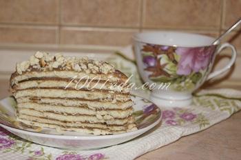 Торт из сгущенки &quot;Nesquik&quot; без выпечки: рецепт с пошаговым фото /><!--<img heigth=