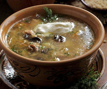 рецепт вкусного супа с перловой крупой