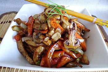 Рецепт свинины стир-фрай