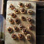 Бутербродики «сырно-огуречный шпротик»