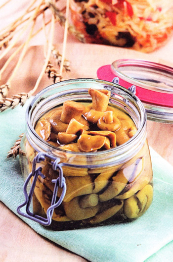 рецепт маринованных моховиков на зиму с фото