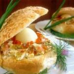 "Рецепт закуски ""Морская раковина"""