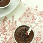 Шоколадно-свекольные пирожные для влюбленных