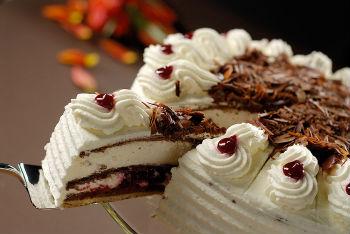 торт шоколадный с вишней рецепт с фото