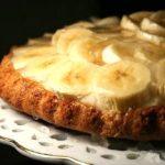 Банановый пирог в микроволновке