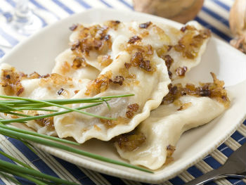 вареники с картошкой и салом рецепт с фото