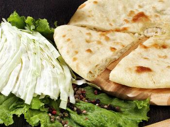 Пироги осетинские с капустой рецепт