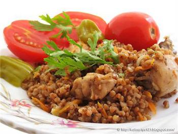 рецепты из гречки с курицей в мультиварке редмонд