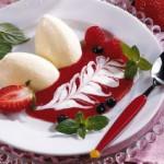 Десерт Баварский крем