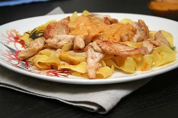 Как готовить макароны с курицей в мультиварке