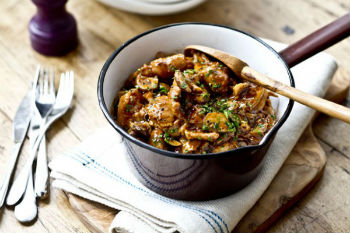 Рецепт курицы с грибами в мультиварке