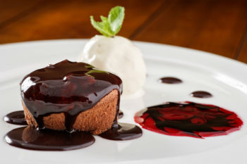 шоколадный флан рецепт с фото