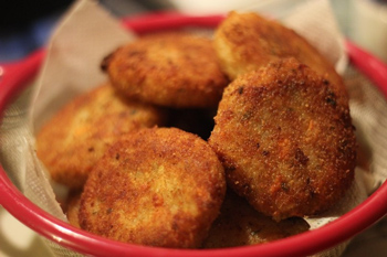 котлеты мясо картофельные в духовке рецепт