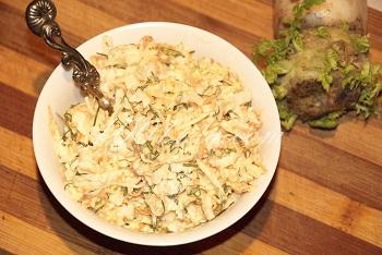 вкусные салаты из дайкона