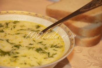 Рецепт сырного супа с фаршем