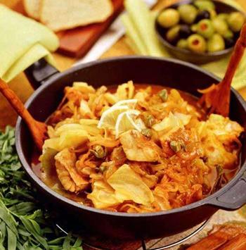 рецепт солянки из капусты в мультиварке