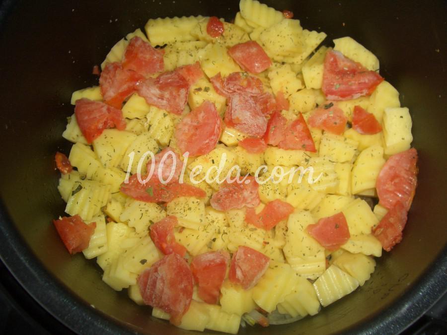 Вкусный мясо с картошкой в мультиварке