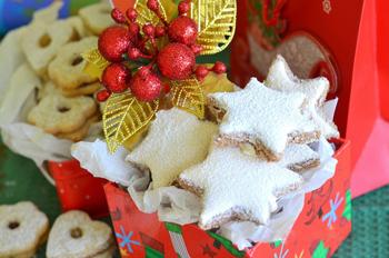 Швейцарское рождественское печенье