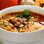 Суп харчо из ребрышек