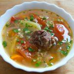 Суп харчо в скороварке