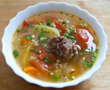 Супы из свинины харчо в мультиварке