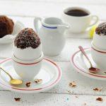 Шоколадные куличики в яичной скорлупе