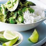 Холодная закуска Зеленое тайское карри