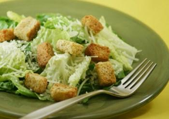 Рецепт салата цезарь с капустой