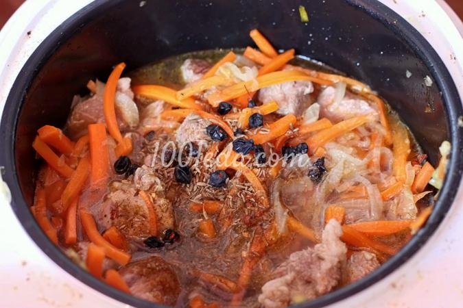 Плов в мультиварке поларис со свининой рецепт с пошаговый рецепт
