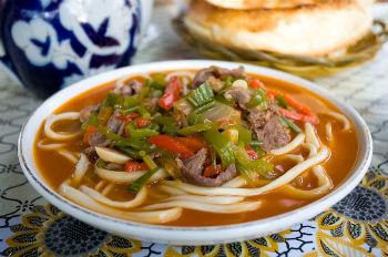 лагман по узбекский рецепт