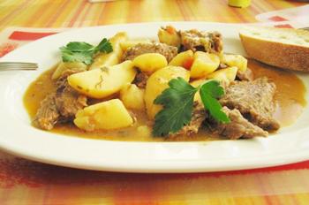 Рецепт жаркого со свининой