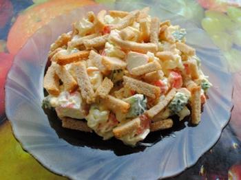 Рецепты салатов с кальмарами и мясом с 196