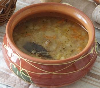 рецепт щей из квашеной капусты в духовке