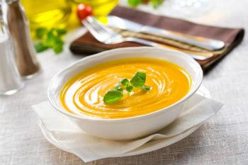Суп крем пюре из тыквы