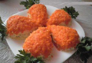 "Рецепт вкусного салата ""Мимоза"""