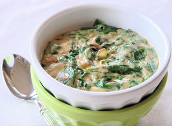 соус со шпината рецепты