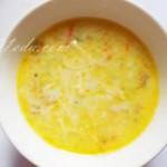 Овощной молочный суп в мультиварке