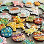 Украшение пасхального печенья
