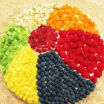 Как украсить торт без выпечки фруктами