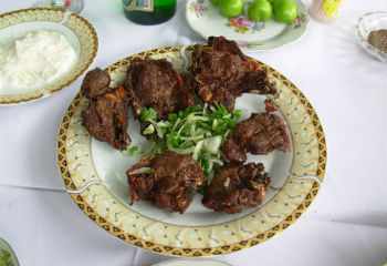 Шашлык дачный – кулинарный рецепт