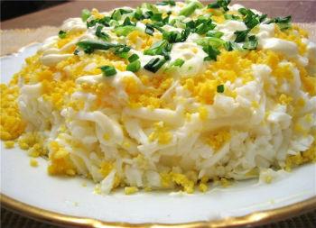 рецепт женский каприз салат