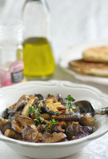 Как приготовить шашлык из грибов с салом