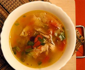 рецепт супа харчо на костре